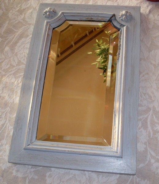 miroir biseaut charme d 39 antan. Black Bedroom Furniture Sets. Home Design Ideas