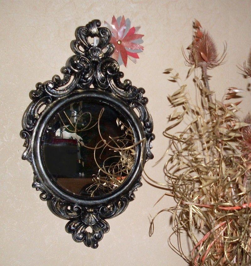 Petit miroir baroque 2 for Petit miroir noir